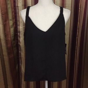 New Rachel Roy sleeveless strap blouse top
